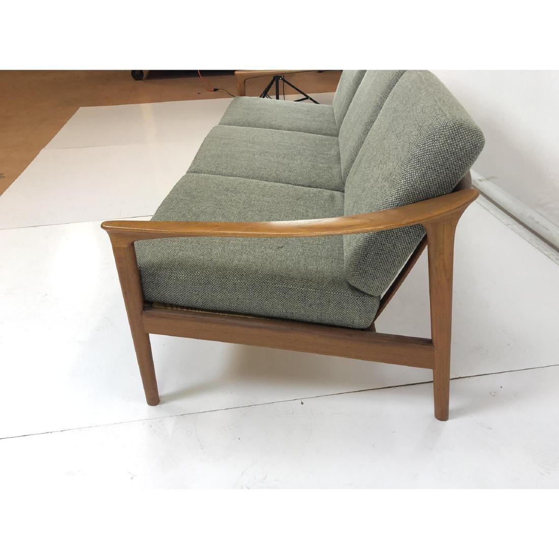 FOLKE OHLSSON Danish Modern Teak Sofa Couch . Ele - 7