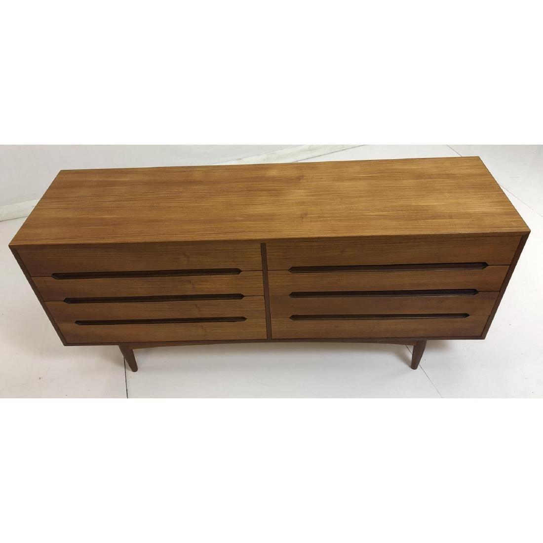 Danish Modern Teak Credenza Dresser Sideboard. In - 3