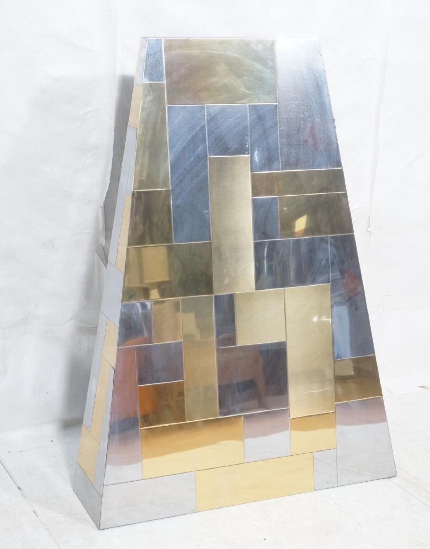 PAUL EVANS Style Cityscape Fireplace Hood. Modern