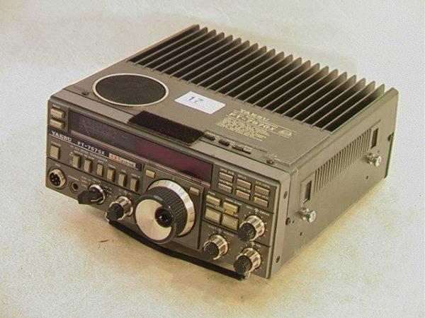 2021: YAESU FT-757GX Radio Mode transceiver Cat System.
