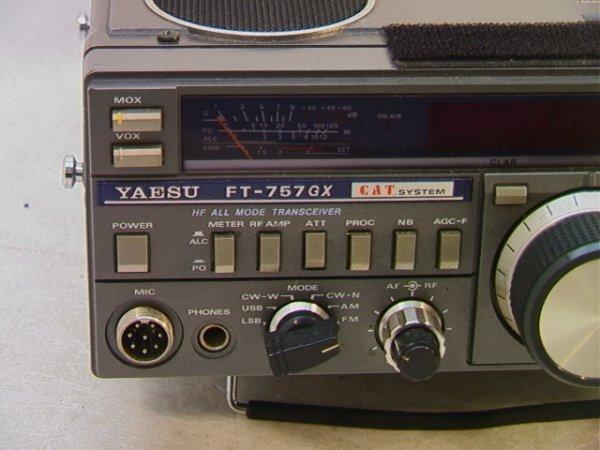 2021: YAESU FT-757GX Radio Mode transceiver Cat System. - 3