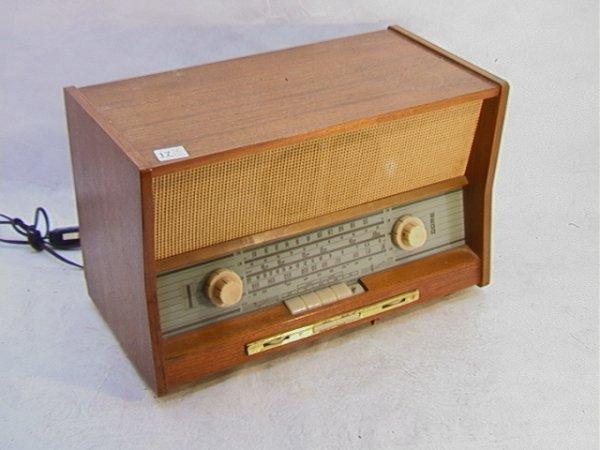 2024: WEGA Type 226 Wood Case Radio.   Dimensions:  H: