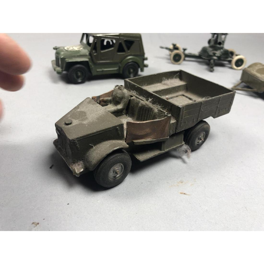 12pc BRITAINS Military Vehicles English Lead Toys - 10