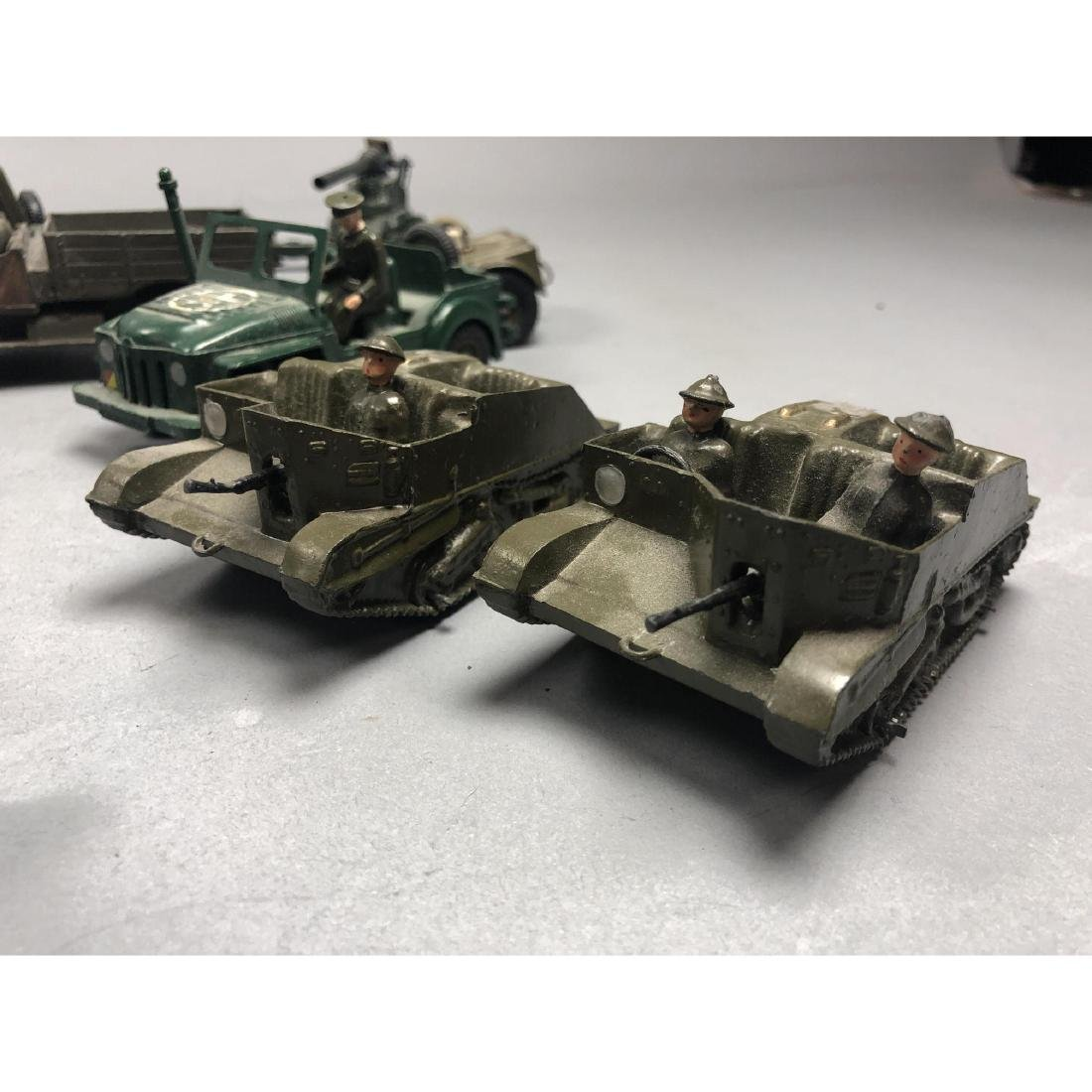 12pc BRITAINS Military Vehicles English Lead Toys - 3