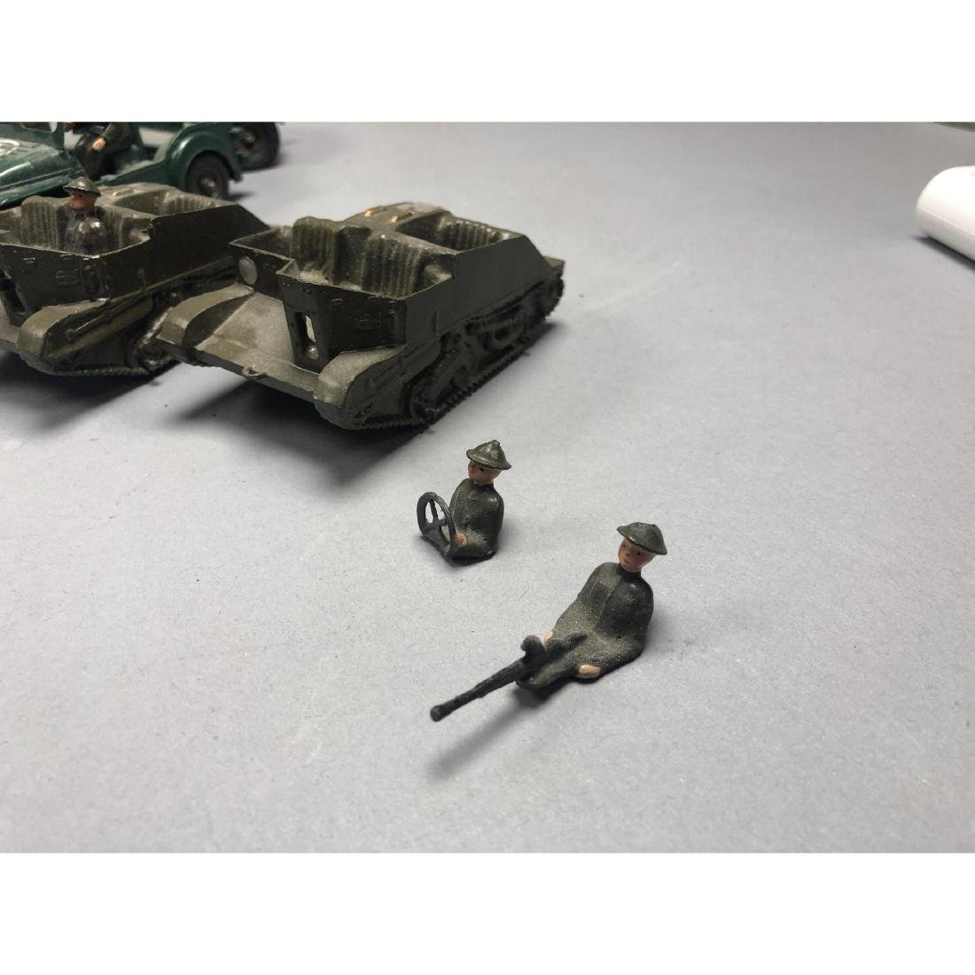 12pc BRITAINS Military Vehicles English Lead Toys - 4