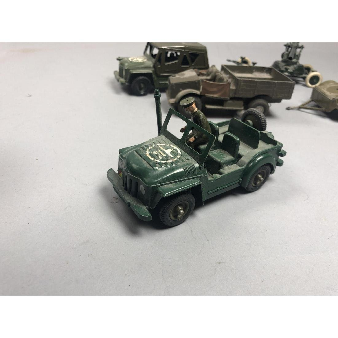 12pc BRITAINS Military Vehicles English Lead Toys - 9