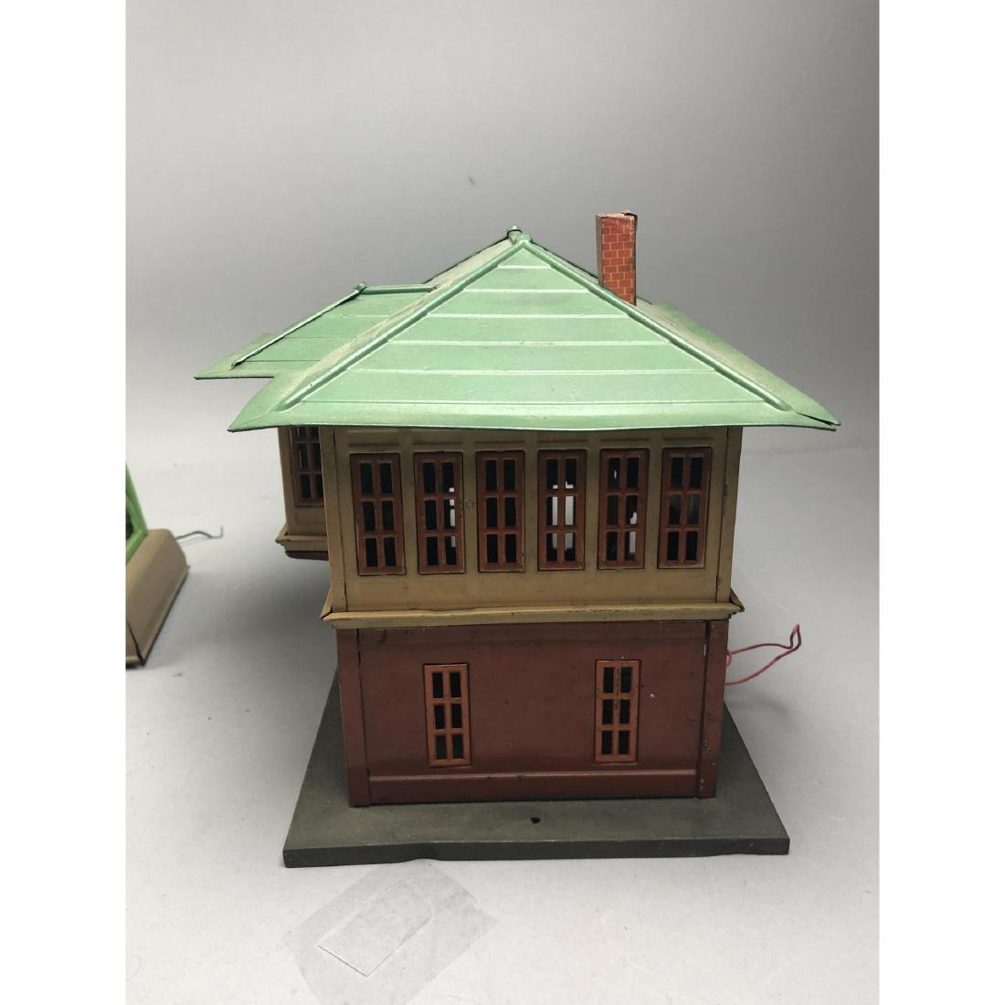 3pc LIONEL Model Train Buildings. 1 power station - 10