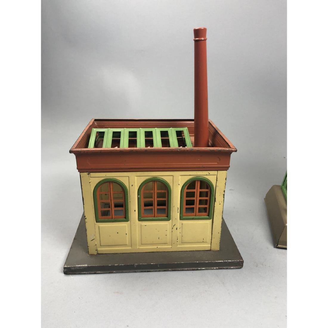 3pc LIONEL Model Train Buildings. 1 power station - 3