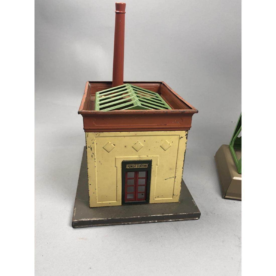 3pc LIONEL Model Train Buildings. 1 power station - 4