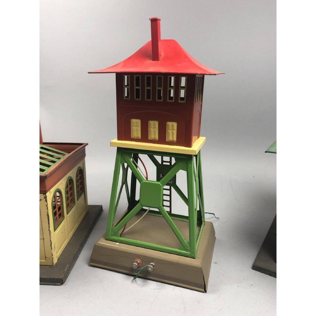 3pc LIONEL Model Train Buildings. 1 power station - 7