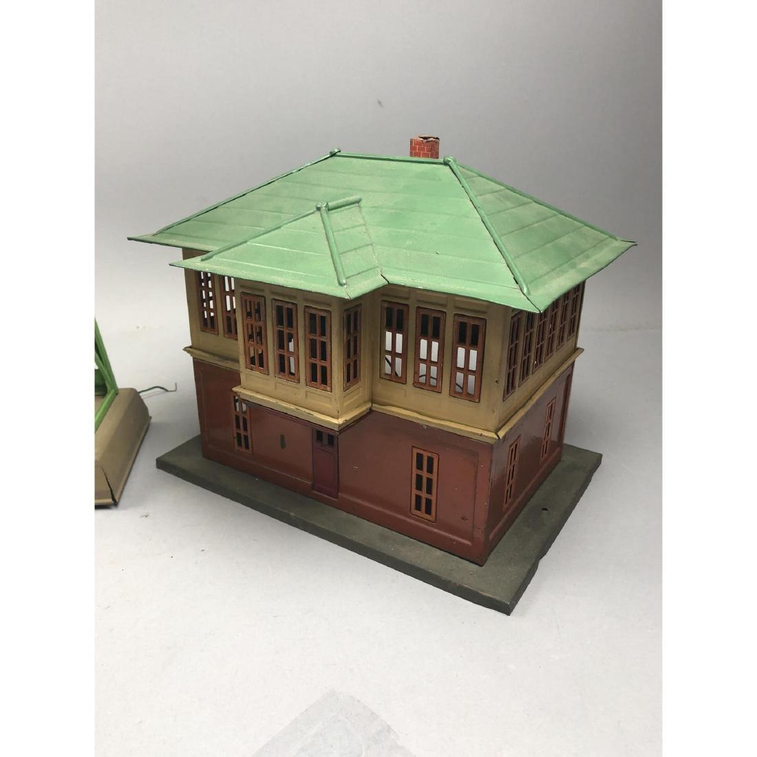 3pc LIONEL Model Train Buildings. 1 power station - 9