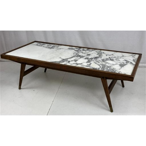 Mid Century Modern Marble Top Coffee Table White May 21 2019