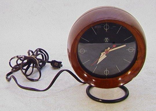 305: Howard Miller George Nelson Table Clock.  Chronopa