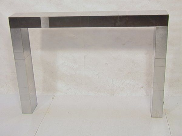 383: PAUL EVANS Fireplace Surround WALL MOUNT CONSOLE O