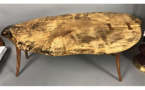 Strange Natural Free Edge Wood Slab Coffee Table Butterf Bralicious Painted Fabric Chair Ideas Braliciousco