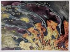 7x6 NOURISON Prismatic Wool Abstract  Carpet  Bi