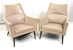Pr Danish Modern Lounge Chairs McCobb Squirm style