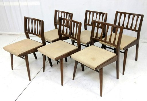 Cool Set 6 American Modern Dining Chairs Simple Frame Download Free Architecture Designs Itiscsunscenecom