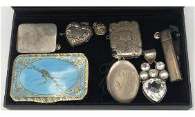 7 Pc Silver or Sterling Object Lot TIFFANY  CO