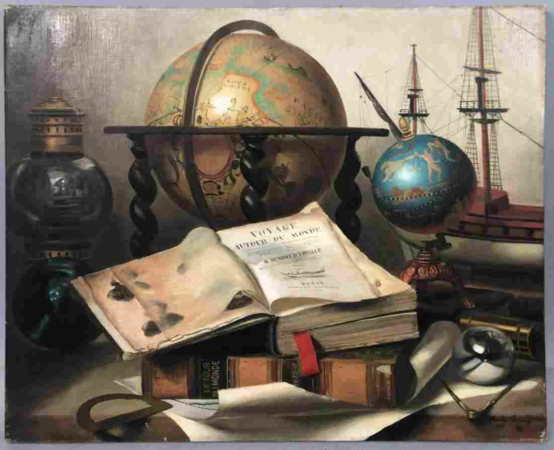 "CHARLES CERNY ""Voyage de Dumont d'Urville""  Unfra"