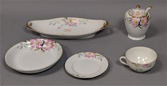 93pc NORITAKE AZALEA Dinnerware Set Pattern 19322