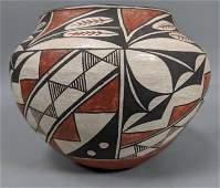 Vintage ACOMA PUEBLO Native American Pottery Vase