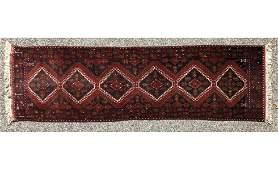 11'8 x 2'7 Caucasian Style  Handmade Oriental Rug