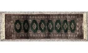 2' x 6'3  Handmade Oriental Rug Carpet Runner. Re