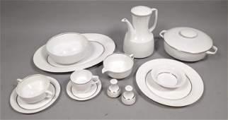 123pc Large Set ROSENTHAL China Dinnerware. Pattern #20