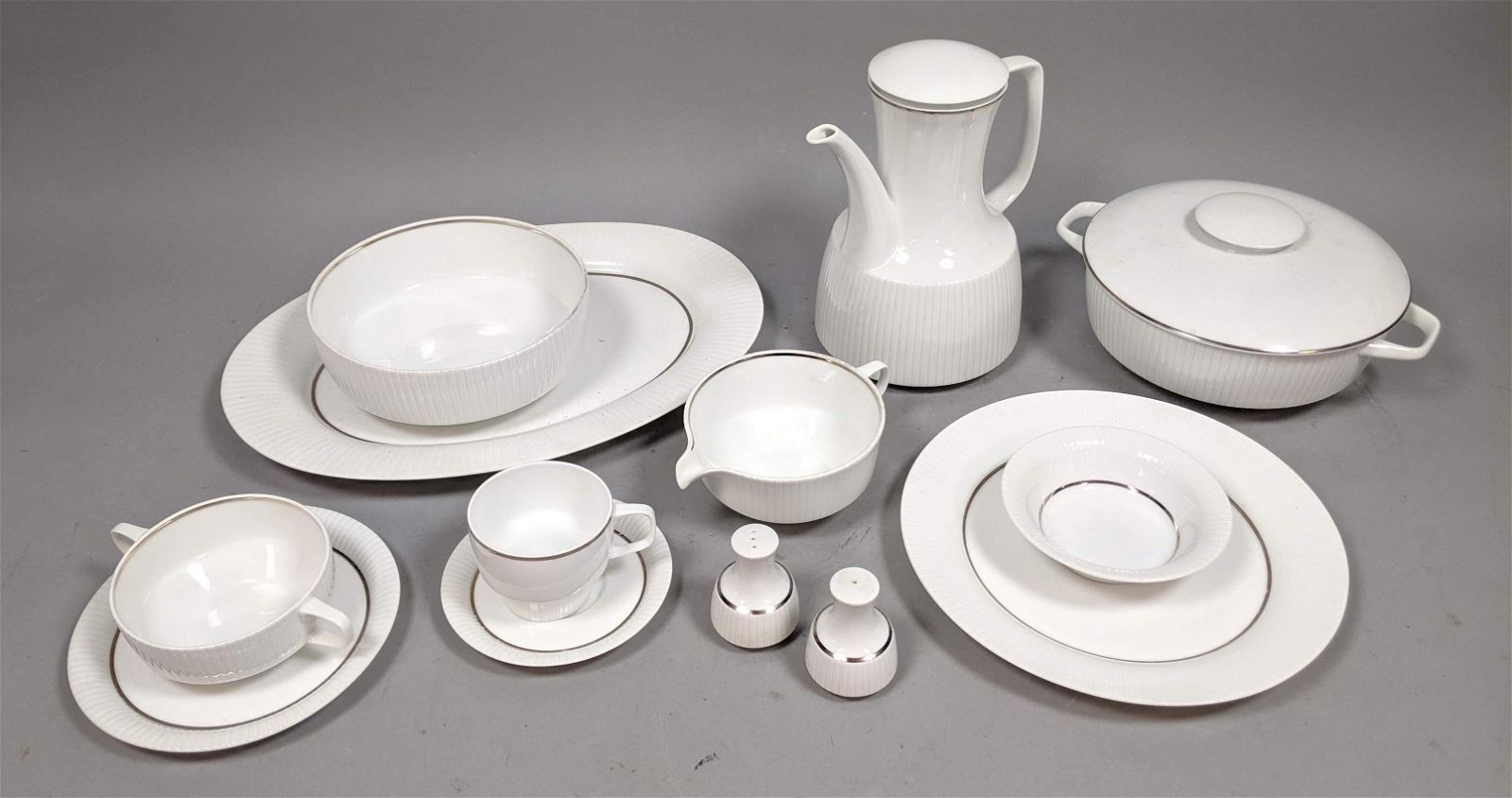 123pc Large Set ROSENTHAL China Dinnerware. Pattern #20