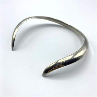 Heavy Sterling Silver GEORG JENSEN #16A Neck Collar. Ch