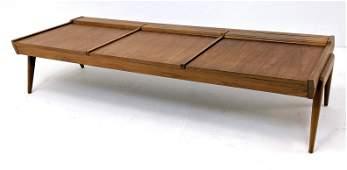 Brown Saltman TURNABOUT bench table