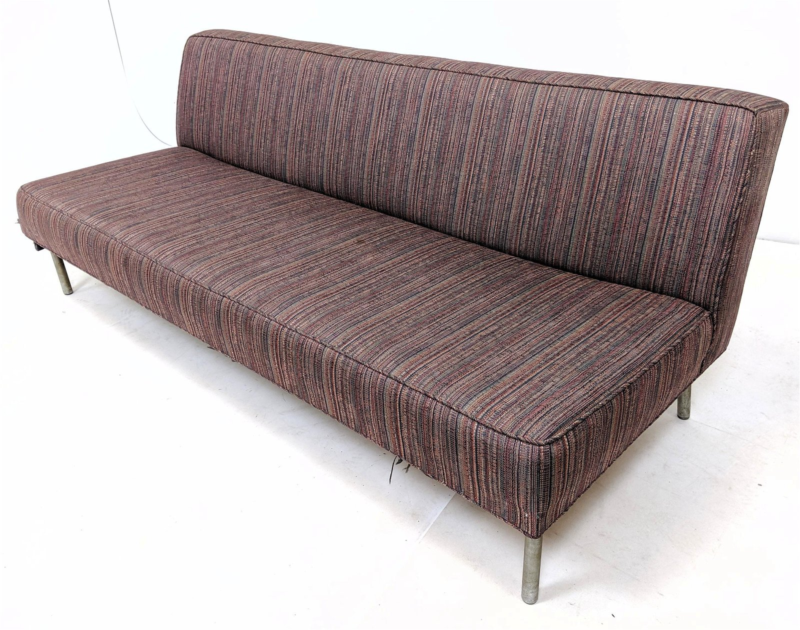GEORGE NELSON for HERMAN MILLER Sofa Couch. Steel tube