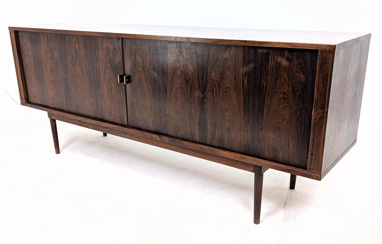 LOVIG 1969 Danish Modern Rosewood Credenza Sideboard