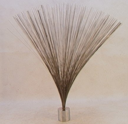 303: Original HARRY BERTOIA Spray Sculpture. Wire top w