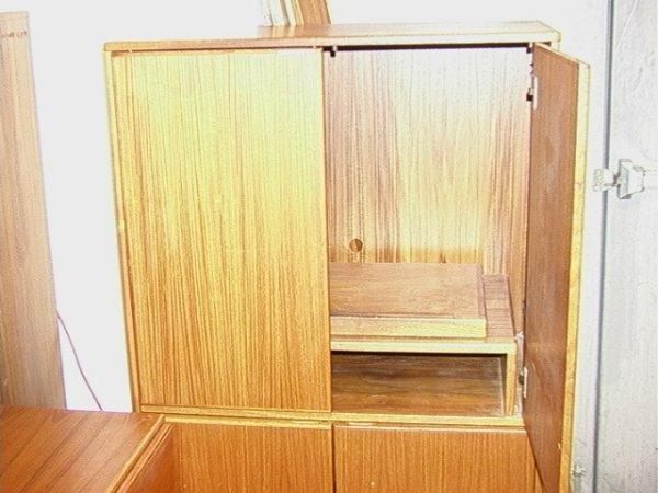 652: SCAN COLL Danish TEAK Bedroom Set. Platform Bed, L - 3