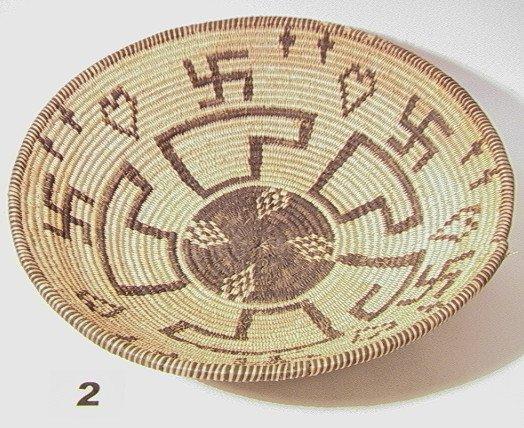 2: APACHE Bowl.   Native American Indian Basket