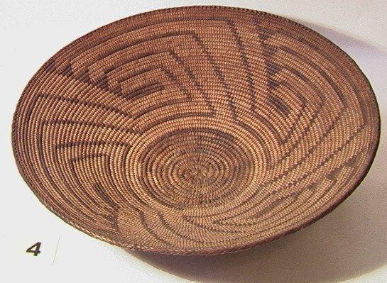 4: PIMA Tray.   Native American Indian Basket