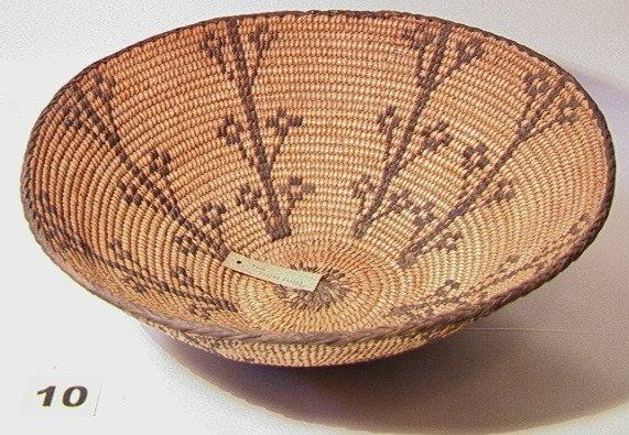 10: PIMA Pictoral Bowl.   Native American Indian Basket