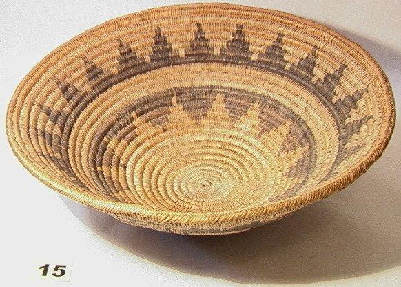 15: NAVAHO Wedding Tray Native American Indian Basket