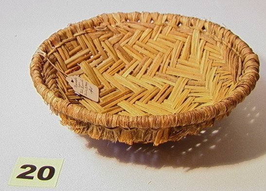 20: Pair RIO GRANDE RIVER, New Mexico Baskets. WIth Ori