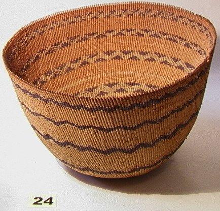24: California POMO Basket   Native American Indian