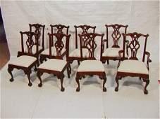 1102 8PCS HENREDON Dining Chairs Ralph Lauren Polo  8