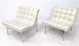 "Pair of Katavolos, Littell & Kelley ""New York"" Lounge C"