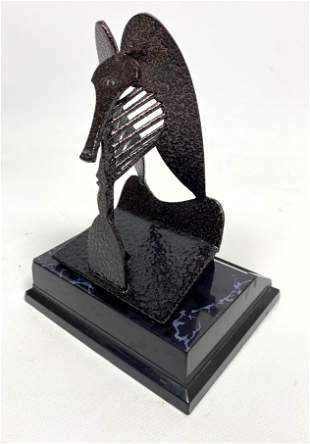 "Vintage Pablo Picasso Sculpture ""The Lady"" Chicago"