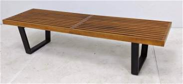 GEORGE NELSON for HERMAN MILLER Slat Bench Coffee Table