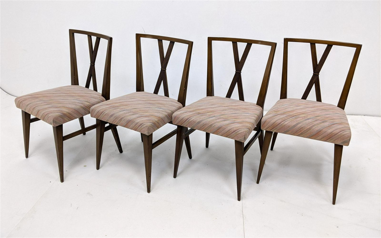 4pc TOMMI PARZINGER for CHARAK Dining Side Chairs. Past