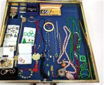 Case Lot A: Large Case lot of Costume Jewelry incl. Asi