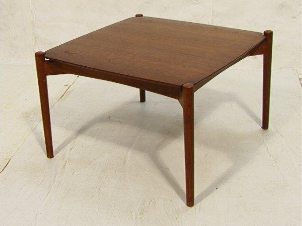 3: Wilkhahn Danish Teak Square Table floating top.