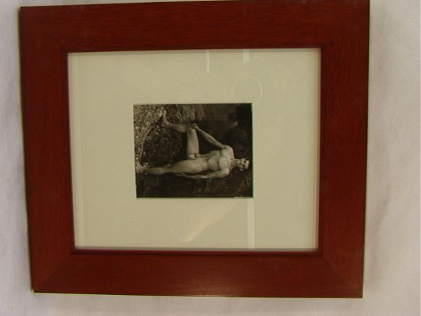 18: Vintage Male Pin Up Photograph. Beefcake Nude.  Sta